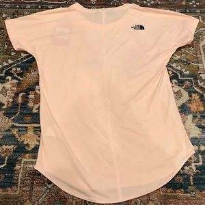 The North Face Tops - The North Face Pink Graphic T Shirt Top
